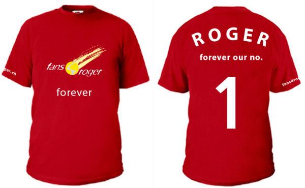 fans4roger Herrenshirt